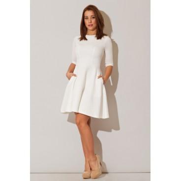 Dámske šaty Figl M235 biele