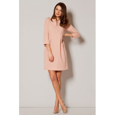 Dámske šaty Figl M 249 ružové