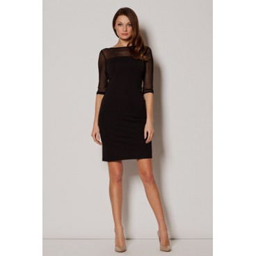 Dámske šaty Figl M 237 čierne