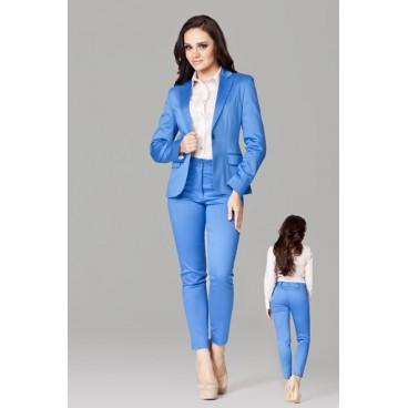 Dámske nohavice Figl 109 modré - výprodej