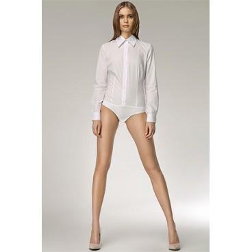 Dámska košeľa Nife K 22-biela