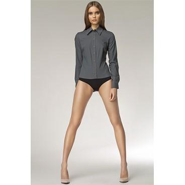 Dámska košeľa Nife K 22-šedá