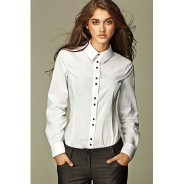 Dámska košeľa Nife K 38-biela