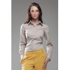 Dámska košeľa Nife K 35-béžová výpredaj veľkosť 40