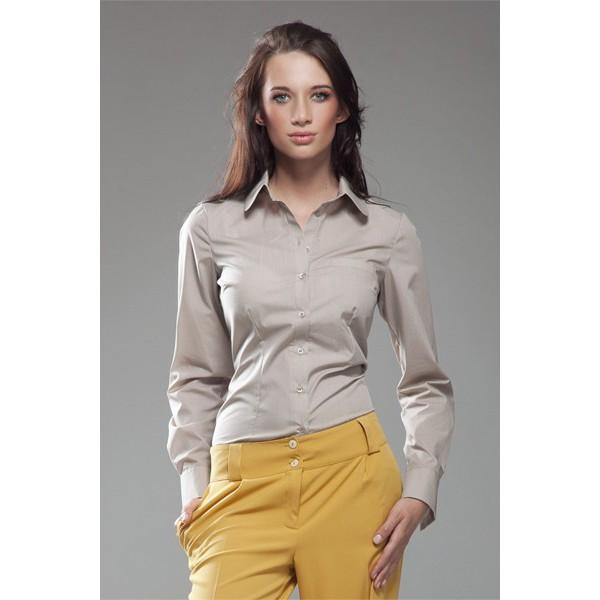 4f14788b79aa Dámska košeľa Nife K 35-béžová. Zdieľať na Facebooku ...