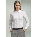 Dámska košeľa Nife K 43-biela
