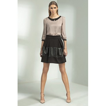 bdd32e6ac92ef Dámska sukňa Nife SP20 čierna