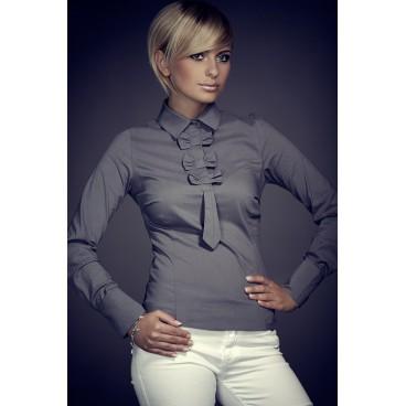košeľa Figl 1 šedá