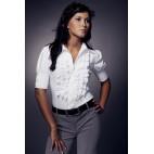 Dámska košeľa Nife K 02-biela