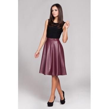 Dámska sukňa Figl 164 bordó - výprodej