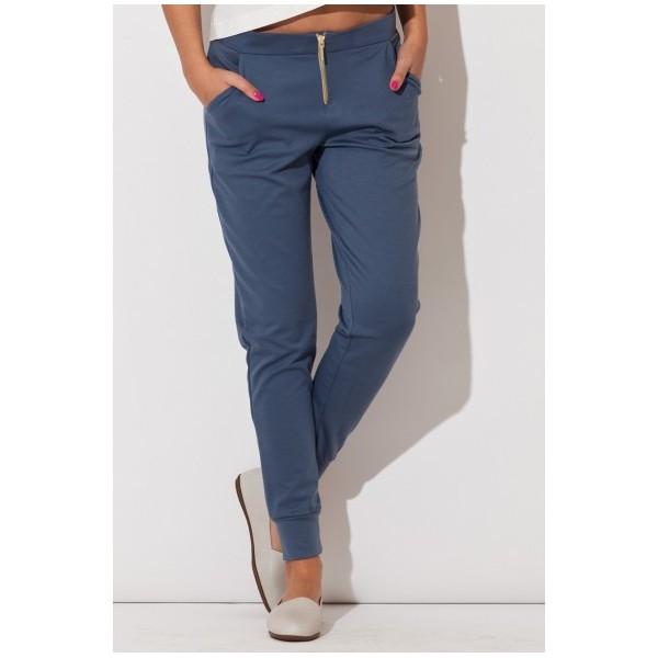 8ec3abe7a874 Dámske nohavice Katrus K 153 modro-šedé. Predchádz.