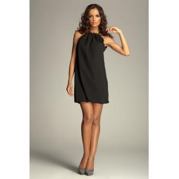 Dámske šaty Figl 65 čierne - výprodej