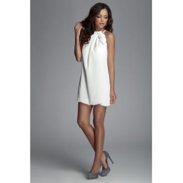 Dámske šaty Figl 65 slonovina - výprodej b47fb150f73