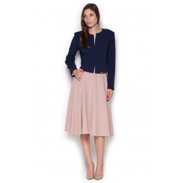 22ad933655cc Dámska sukňa Figl M317 ružová -