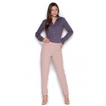 Dámske nohavice Figl M328 ružové