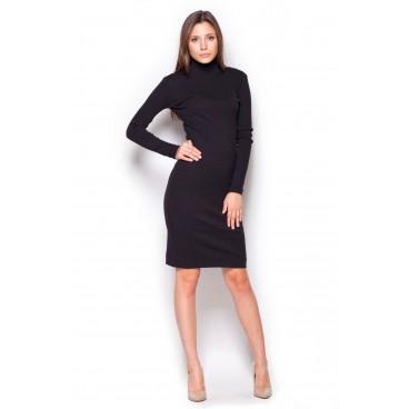 Dámske šaty Figl M 332 čierne - c823f316101