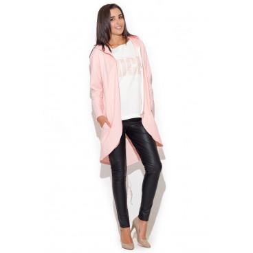Dámske sako Katrus K 215- ružové výpredaj veľkosť M