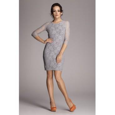 Dámske šaty Figl 76 šedá - výprodej