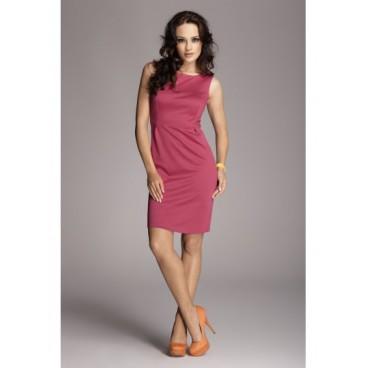 Dámske šaty Figl 79 purpurovej