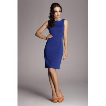 Dámske šaty Figl 79 modré