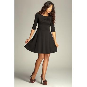 00fc46afe Dámske šaty Figl 81 čierne - výprodej
