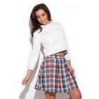 Dámska sukňa Katrus K 242 kockovaná výpredaj