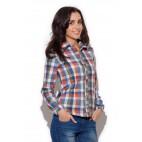 Dámska košeľa Katrus K 241 kockovaná výpredaj veľkosť L