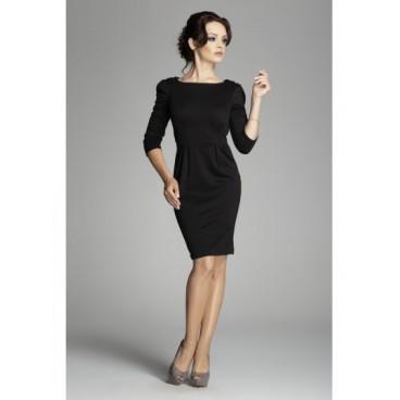 452991e5292f Dámske šaty Figl 82 čierne - výprodej