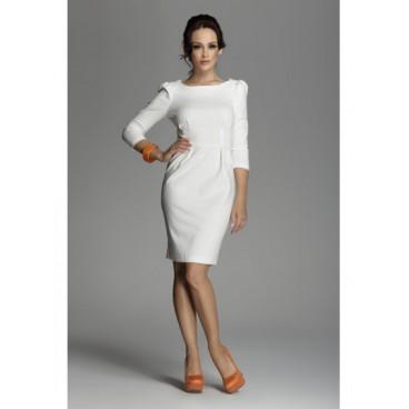 Dámske šaty Figl 82 slonovina - výprodej