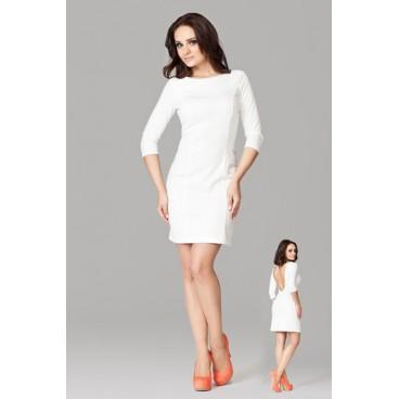 Dámske šaty Figl 104 ecru