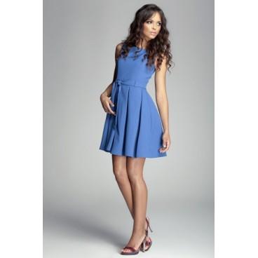 Dámske šaty Figl 83 modré - výprodej