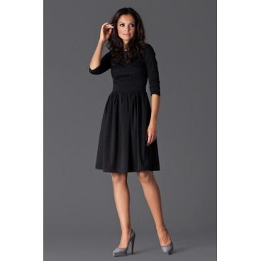 Dámske šaty Figl 117 čierne - výprodej