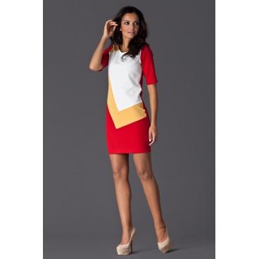 Dámske šaty Figl 118 červené - výprodej