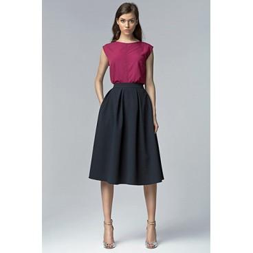 624119286635 Dámska sukňa Nife Sp27 granát -