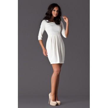 5f014b26f46f Dámske šaty Figl 122 biele