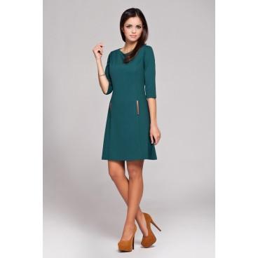 Dámske šaty Figl 145 zelené - výprodej