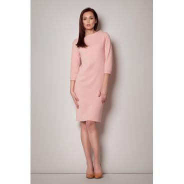 Šaty Figl 181 ružové
