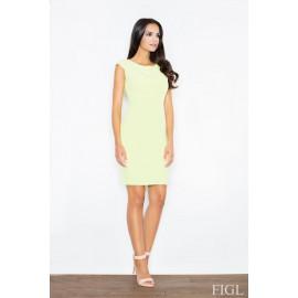 Dámske šaty Figl M 378 svetlozelená