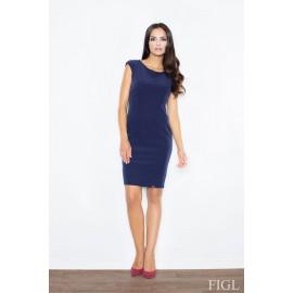 Dámske šaty Figl M 378 granát