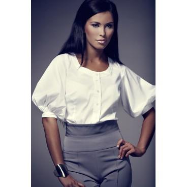Dámska košeľa Figl 29 biela výpredaj veľkosť L