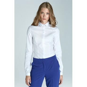 9e4398f342e9 Dámska košeľa Nife K47-biela -