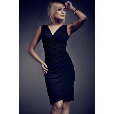 Dámske šaty Figl 53 čierne