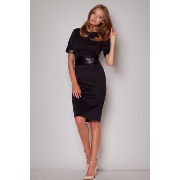 Dámske šaty Figl M204 čierne