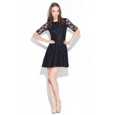 Dámske šaty Katrus 003 čierne