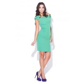 Dámske šaty Katrus 028 zelené