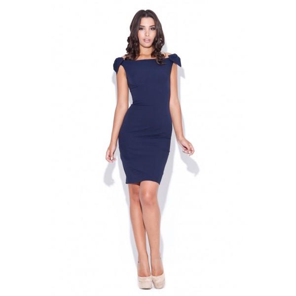 ea95d1001852 Dámske šaty Katrus 028 modré. Zdieľať na Facebooku ...