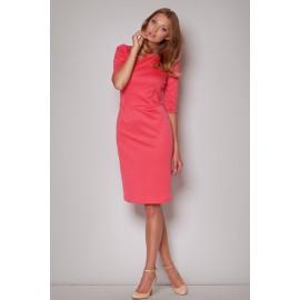 Dámske šaty Figl M202 korálové