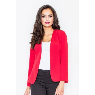Dámske sako Figl 141 červené - výprodej