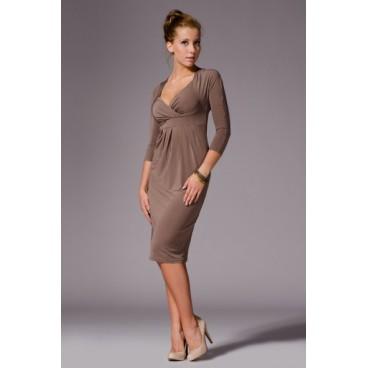 Šaty Figl 18 moka - výprodej