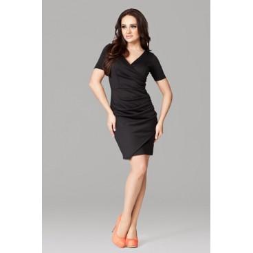 Dámske šaty Figl 106 čierne